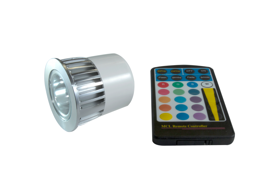 RGB LED Lamp with Remote