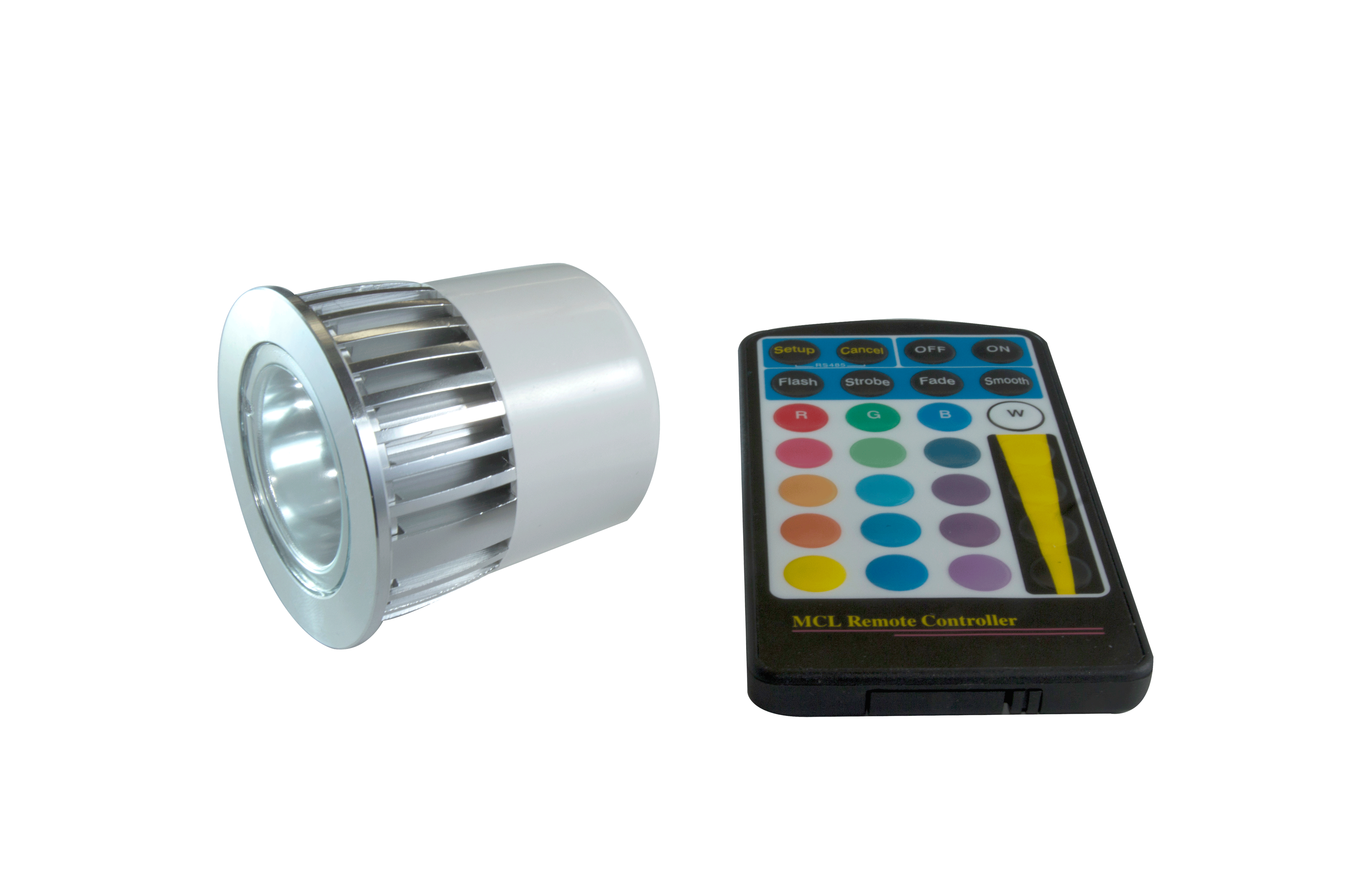 6 watt rgb led lamp eco light up domestic led lighting rgb led lamp with remote parisarafo Image collections